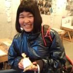 2月21日まちぐみ展最終日・女子高生がチョコを持ってきた!